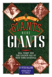 When the Giants Were Giants - cover