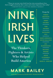 Nine Irish Lives - cover