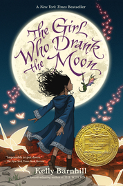 The Girl Who Drank the Moon (Winner of the 2017 Newbery Medal) - cover