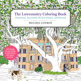 The Lowcountry Coloring Book - cover