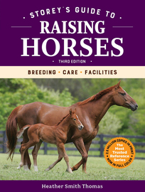 Storey's Guide to Raising Horses, 3rd Edition - cover