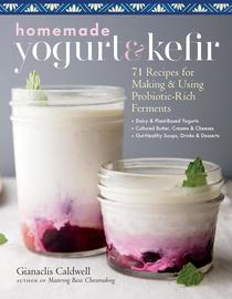 Homemade Yogurt & Kefir - cover