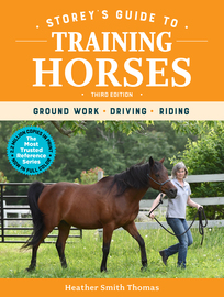 Storey's Guide to Training Horses, 3rd Edition - cover
