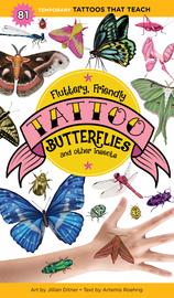 Fluttery, Friendly Tattoo Butterflies and Other Insects - cover