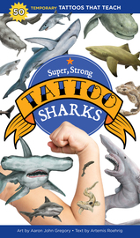 Super, Strong Tattoo Sharks - cover