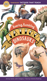 Roaring, Rumbling Tattoo Dinosaurs - cover