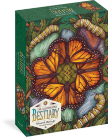 The Illustrated Bestiary Puzzle: Monarch Butterfly (750 pieces) - cover