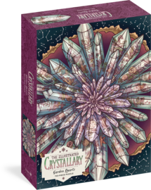 The Illustrated Crystallary Puzzle: Garden Quartz (750 pieces) - cover