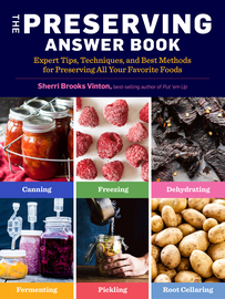 The Preserving Answer Book - cover