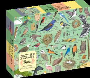 Nature Anatomy: Birds Puzzle (500 pieces) - cover