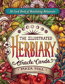 The Illustrated Herbiary Oracle Cards - cover