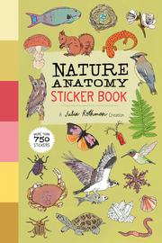 Nature Anatomy Sticker Book - cover