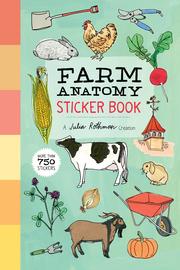 Farm Anatomy Sticker Book - cover