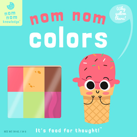 Nom Nom: Colors - cover