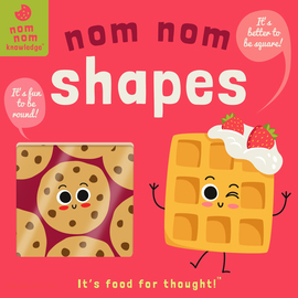 Nom Nom: Shapes - cover