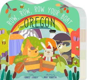 Row, Row, Row Your Boat in Oregon - cover