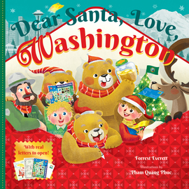 Dear Santa, Love, Washington - cover