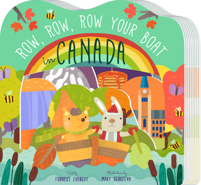 Row, Row, Row Your Boat in Canada - cover