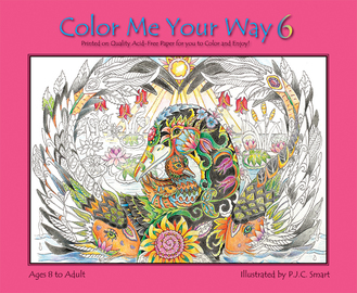 Color Me Your Way 6 - cover