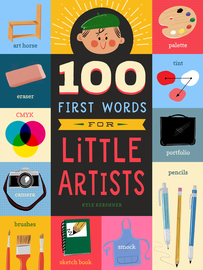 100 First Words for Little Artists - cover