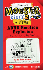 Marvin's Monster Diary 2 (+ Lyssa) - cover