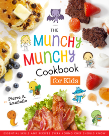 The Munchy Munchy Cookbook for Kids - cover