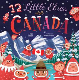 12 Little Elves Visit Canada - cover