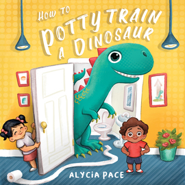 How to Potty Train a Dinosaur - cover