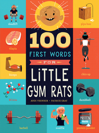 100 First Words for Little Gym Rats - cover