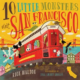 10 Little Monsters Visit San Francisco, Second Edition - cover