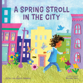 A Spring Stroll in the City - cover