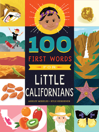 100 First Words for Little Californians - cover