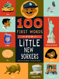 100 First Words for Little New Yorkers - cover