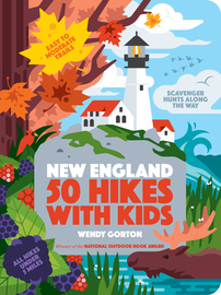 50 Hikes with Kids New England - cover