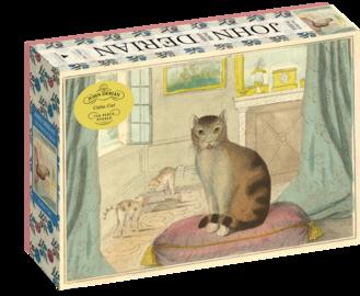 John Derian Paper Goods: Calm Cat 750-Piece Puzzle - cover