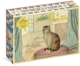John Derian Paper Goods: Calm Cat 750-Piece Puzzle - cover