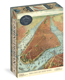 John Derian Paper Goods: The City of New York 750-Piece Puzzle - cover