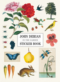 John Derian Paper Goods: In the Garden Sticker Book - cover