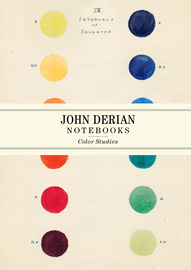 John Derian Paper Goods: Color Studies Notebooks - cover