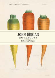 John Derian Paper Goods: Kitchen Delights Notebooks - cover