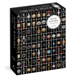 Iconic Watches 500-Piece Puzzle - cover