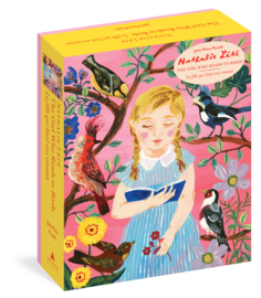 Nathalie Lété: The Girl Who Reads to Birds 500-Piece Puzzle - cover