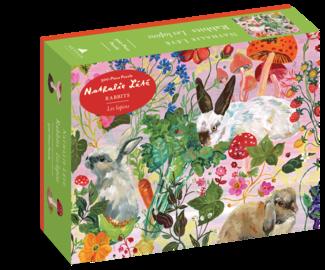 Nathalie Lété: Rabbits 500-Piece Puzzle - cover