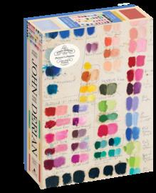 John Derian Paper Goods: Painter's Palette 1,000-Piece Puzzle - cover