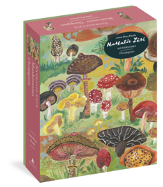 Nathalie Lété: Mushrooms 1,000-Piece Puzzle - cover