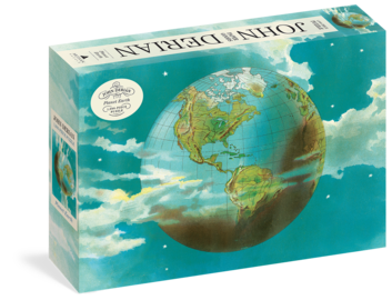 John Derian Paper Goods: Planet Earth 1,000-Piece Puzzle - cover