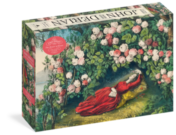 John Derian Paper Goods: The Bower of Roses 1,000-Piece Puzzle - cover