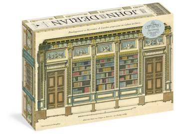 John Derian Paper Goods: The Library 1,000-Piece Puzzle - cover