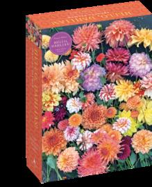 Hello, Dahlias! 1,000-Piece Puzzle - cover