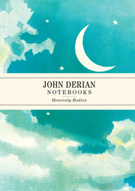 John Derian Paper Goods: Heavenly Bodies Notebooks - cover